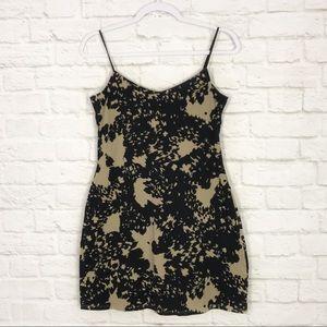 Victorias Secret Animal Print Shelf Bra Tank Dress